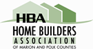 Logo For HBA Home Builders Association of Marion and Polk Counties